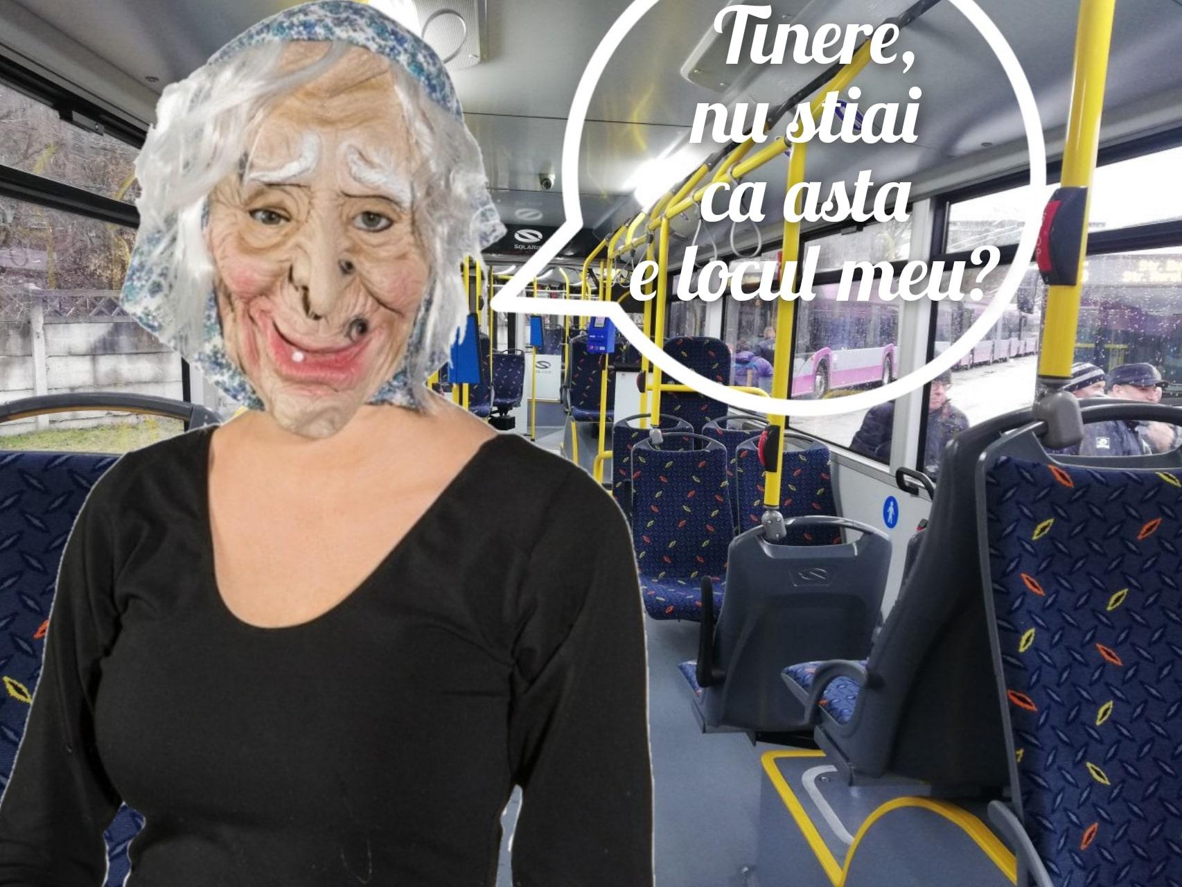 Locuri închiriate în autobuz